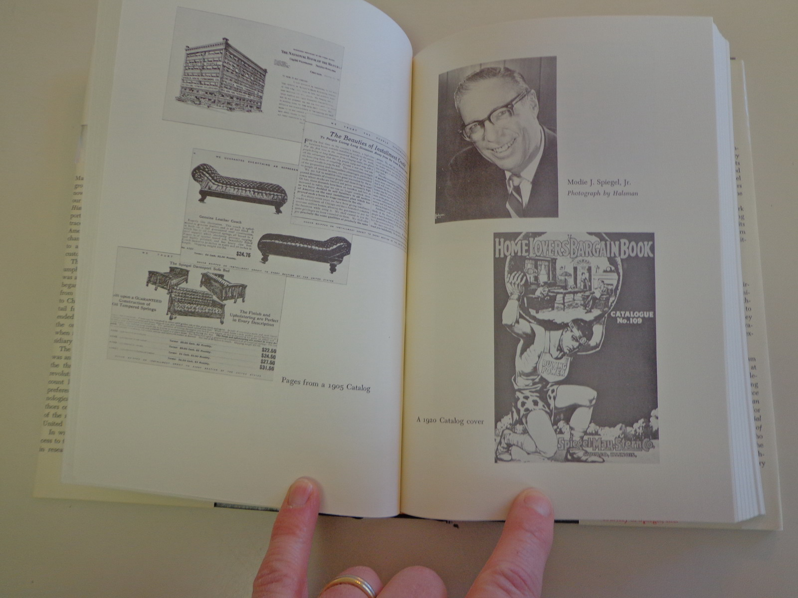 A history of spiegel inc hbdj 1973 business catalog mail for Spiegel history