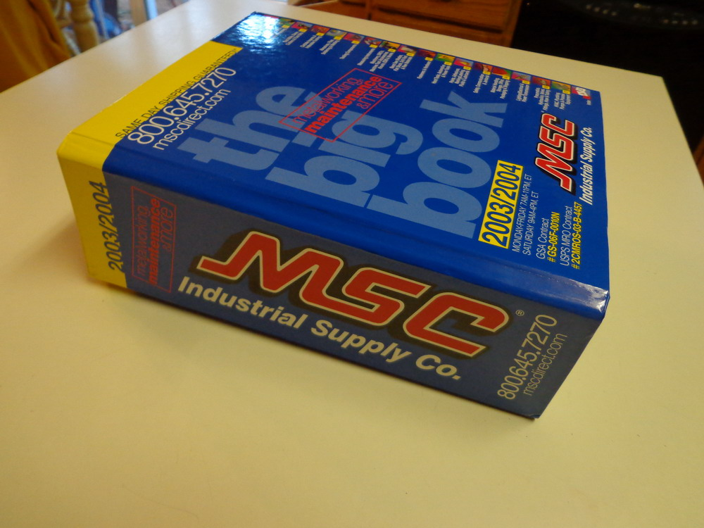 Msc industrial supply company catalog 2003 2004 tools for Industrial distribution group