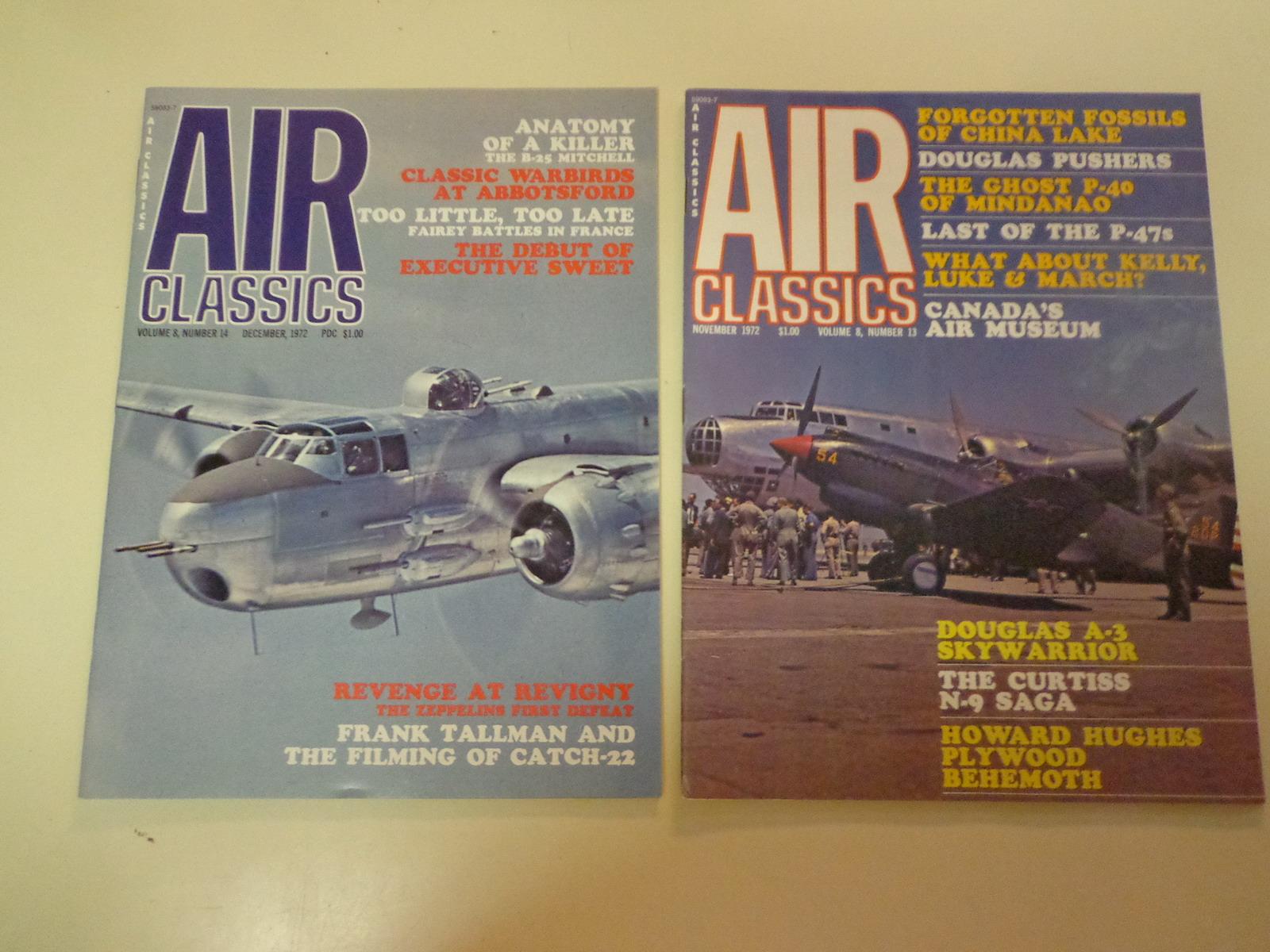 AIR Classics Magazines 12 Issues 1972 Histor